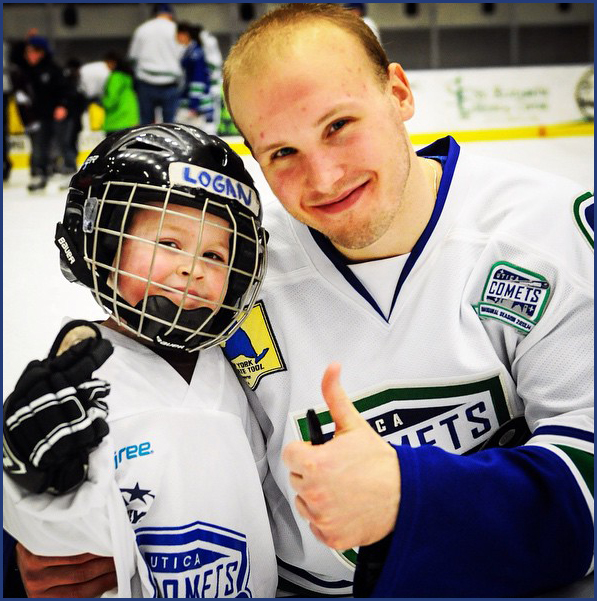 6759bf8c5 A little over a year after my son Logan was diagnosed with Type 1 Diabetes  I was thinking of a way to bring our love of hockey and the need to raise  ...
